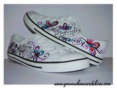 Hand Painted Trainers