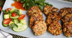 Enjoy these patties hot or cold. Great for a lunch box or served with salad or vegetables for a family meal.