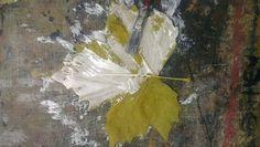 My glued leaves.
