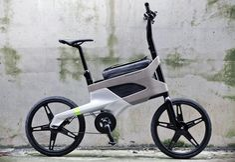 Una bici plegable muy chuli!
