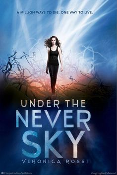 UNDER THE NEVER SKY BY VERONICA ROSS - Best Fiction for Young Adults, Indiana Young Hoosier Book Award Reading List Nominee