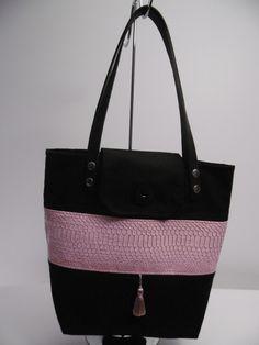 Des anses en cuir pour ce sac. : Sacs à main par smjcrea