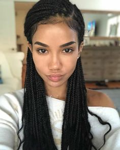 35 Pretty Box Braids for Black Women 2019 35 Pretty Box Braids for Black Women Box Braids hairstyles are one of the most popular African American protective styling choices. Summer lifts the percentage significantly due to the ac…, Box Braids Try On Hairstyles, Chic Hairstyles, Braided Hairstyles For Black Women, Small Box Braids Hairstyles, Dreadlock Hairstyles, Straight Hairstyles, Marley Twist Hairstyles, Quince Hairstyles, Teenage Hairstyles