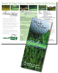 Charity Golf Tournament Brochure Template  More Brochure Template