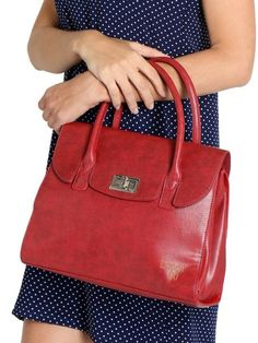 Buy Baggit Red Textured Leather Handbag online in India at best price.Red textured handbag, has a flap across the mouth secured with a twist clasp Two short handles One main Leather Handbags Online, Trendy Handbags, Fashion Handbags, Leather Purses, Cheap Purses, Unique Purses, Purses For Sale, Small Purses, Satchel Handbags