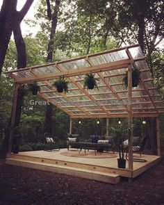 Backyard landscaping – 48 backyard porch ideas on a budget patio makeover outdoor spaces best of i like this open layout like the pergola over the table grill 45 - All For Garden Diy Pergola, Rustic Pergola, Diy Patio, Modern Pergola, Cheap Pergola, Wood Pergola, Diy Deck, Veranda Pergola, Outdoor Pergola