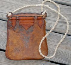 Viking Bag Hedeby Haithabu Handbag of Leather with by misstudy, $115.00