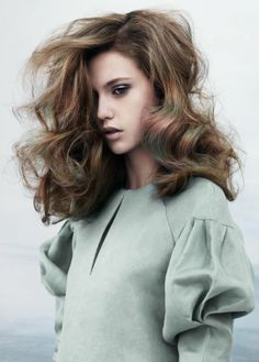 Mother of Pearl by Davines | Check out the full #pastel #hair collection at salonmagazine.ca