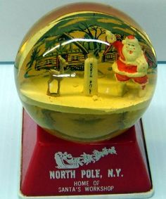 Vintage Holiday Snow Domes - I Antique Online