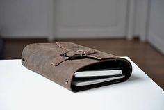 Lisbet / kožený zápisník Travel bag B