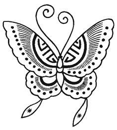 Risco para pintura, risco, borboleta, animais, modelo