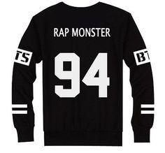 Bangtan Boys Hoodie BTS Hoody Sweater Pullover Rap Monster V J-hope Jin Jimin