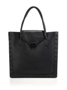 ab88ee6c1647 LOEFFLER RANDALL Studded Leather Work Tote.  loefflerrandall  bags  leather   hand bags  tote