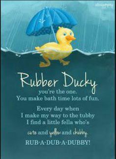 Rubber Ducky Bathroom, Duck Bathroom, Bathroom Kids, Kids Bath, Bathrooms, Baby Shower Duck, Splish Splash, Bath Time, Best Memories
