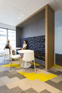 office design for specialist insurance law firm Wotton + Kearney located in both Sydney and Melbourne.
