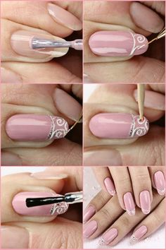 Beautiful nail art-tutorial