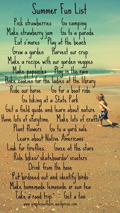 I would love to do all these things with my kids. Maybe if we lived in the Midwest....