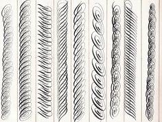 flourishing exercises  http://janefarr.blogspot.ru/2010/08/calligraphy-flourish-friday-journals.html