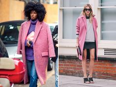 Like Cotton Candy sweet pink coat this winter. And with all the amazing options from Simone Rocha, Asos, Topshop, MSGM, and Roksanda Ilincic,