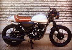 "My Cafe Racer. Custom Project By RC ""La Consentida"" Bajaj Boxer 150cc"