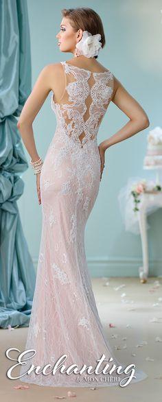 Lace Back Wedding Dresses - Enchanting by Mon Cheri Spring 2016