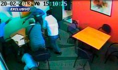Vea el preciso momento del asalto a la Notaría Paino [VIDEO]