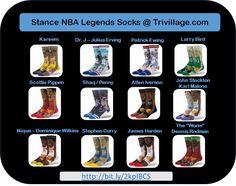 Stance NBA Legends Socks @ Trivillage.com