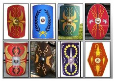 Image result for roman shield