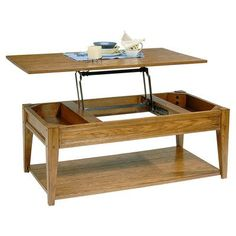 Liberty Furniture Lake House Coffee Table with Lift-Top