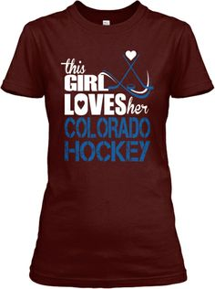 Limited Edition - This Girl Loves her Colorado Avalanche. This needs to run again.