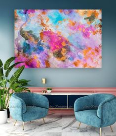 This Abstract print is perfect as bedroom wall art or nursery art. Also, it looks very nice in Livin Pink Wall Art, Pink Art, Wall Art Prints, Art Above Bed, Above Bed Decor, Abstract Wall Art, Abstract Watercolor, Pink Abstract, Abstract Print