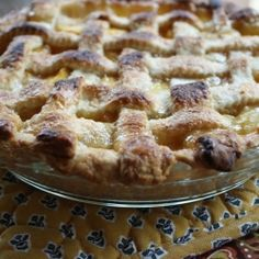 ... - Pies / Tarts on Pinterest | Flaky Pie Crusts, Pies and Peach Pies