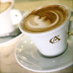 Coffee Photograph - Cappuccino in Rome - Italy Photo - Italian Cafe Art - Food Photography - Kitchen Art - Neutral Home Decor - Espresso. $30,00, via Etsy.