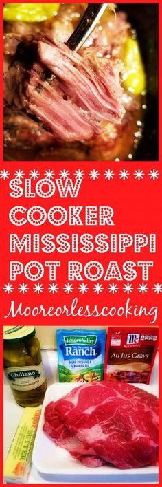 Slow Cooker Mississi