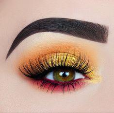 Make-up; Lidschatten-Looks; Katzenaugen-Make-up; Make-up-Ideen; Make-up-Tut Makeup Eye Looks, Eye Makeup Art, Eye Makeup Tips, Eyeshadow Makeup, Eyeshadow Ideas, Eyeliner Ideas, Makeup Products, Makeup Drawing, Makeup Cosmetics