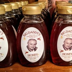 Honey Jar Labels, Honey Label, Online Labels, Roll Labels, Local Honey, Label Templates, Big Daddy, Raw Honey, Contemporary Landscape