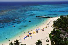 Doctor's Cave Beach, Jamaica