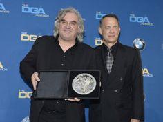 Tom Hanks and Paul Greengrass Backdrop Background, Tom Hanks, Toms