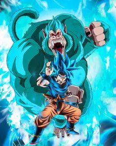 Dragon Ball Gt, Dragon Ball Image, Blue Dragon, Majin Boo Kid, Goku Blue, Tatoo Naruto, Foto Do Goku, Son Goku, Kawaii Anime