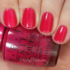 OPI Pen & Pink | Color Paints Collection | Peachy Polish