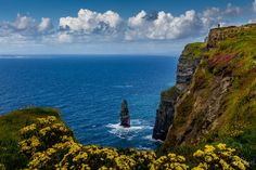 Cliffs of Moher-The Rock Island - null Cliffs Of Moher, Rock Island, The Rock, Landscapes, Water, Top, Outdoor, Water Water, Paisajes