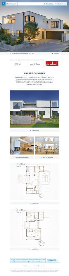 #Bauhaus Reichenbach · GRUBER-Haus · Jetzt bei #Musterhaus.net Unterlagen anfordern!