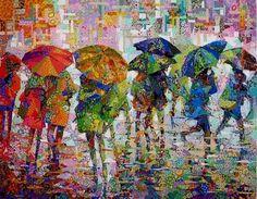 Selvage Blog: Rain II by Danny Amazonas