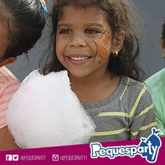 Nada más#dulcepara nuestro paladar que una buena ración de#algodonde#azucar! Pregunta por nuestros servicios de#comida. PequesParty Fábrica de Sonrisas! #cottoncandy#sweet#sugar#delicioso#kids#fun#yummy#entretenimiento#animacion#inflables#vzla#mcbo#marketing#activaciones#cool#yeah#261#brincabrinca#globomagia#trampolin#tobogan