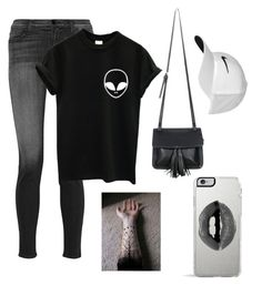 """Untitled #76"" by livbigtree on Polyvore featuring J Brand, Chicnova Fashion, NIKE and Lipsy"