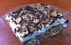 Συνταγή: θεϊκό μπισκοτογλυκο σα τούρτα!