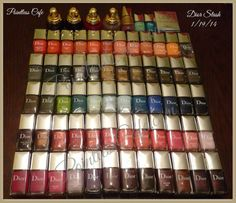 Stash Post - Dior and Chanel Dior Nail Polish, Super Nails, Cool Pins, Nail Colors, Colours, Swatch, Manicures, Chanel, Collections