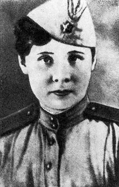 Tatiana Baramzina (1919-1944):  Sniper of the 3rd Battalion of the 252nd Rifle Regiment during the second World War, awarded the Gold Star and the title of Hero of the Soviet Union in 1945 following her death.