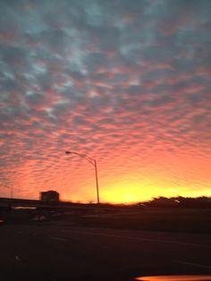 Sky in Elmwood this evening. @MargaretOrr @wdsu @JayGalle @ScottWalker6 @
