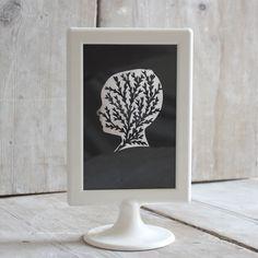 Mr Yen - Personalised Paper Cut Art — Framed Personalised Papercut Silhouette